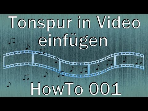 001 - HowTo - Tonspur in Video einfügen (XMedia Recode)