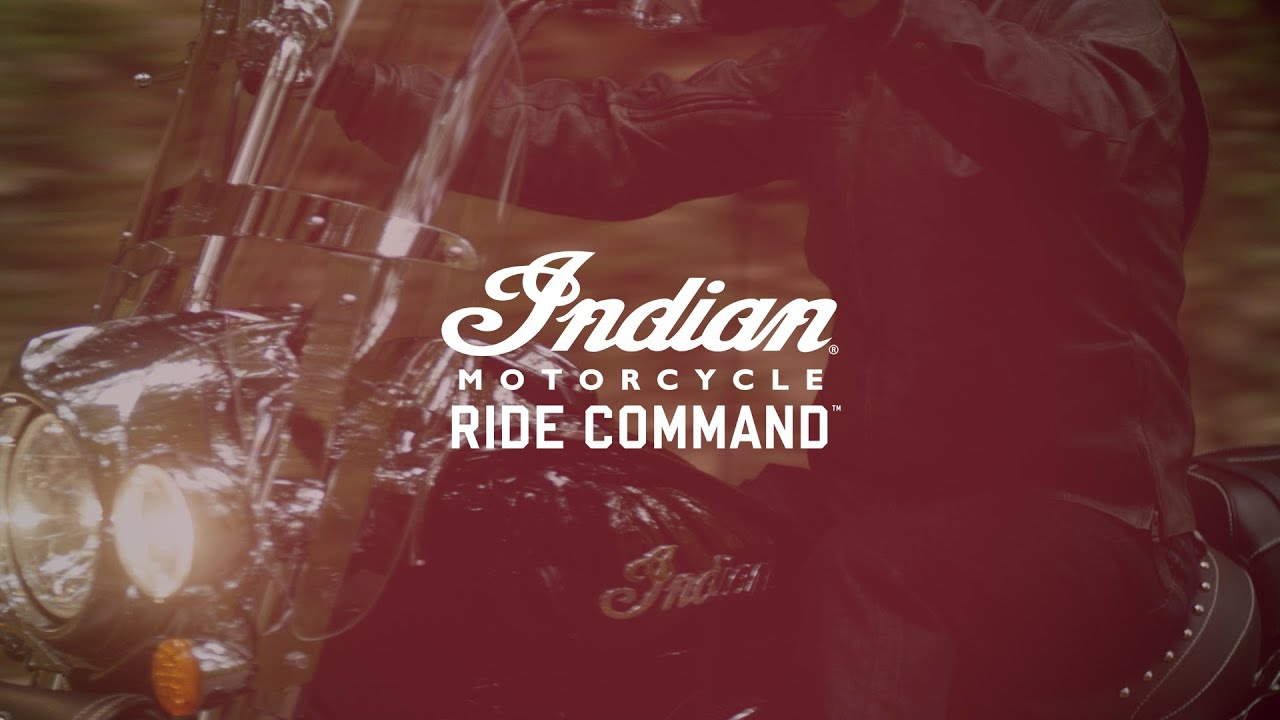 Ride Command Touchscreen Display | Indian Motorcycle