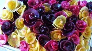 Pickled Beet Rose Bouquet Salad 紅菜頭玫瑰花束沙律
