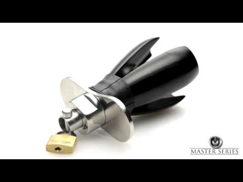 Master Series Deluxe Anal Chastity Pear of Anguish Steel Locking Anal Plug Dallas Novelty from YouTube · Duration:  47 seconds