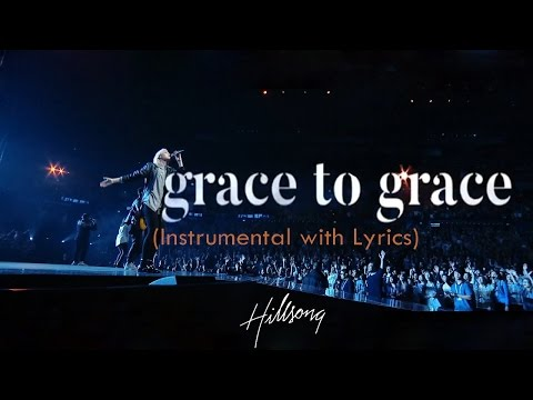 GRACE TO GRACE (Hillsong) - Acoustic Instrumental [Piano Karaoke with Lyrics]