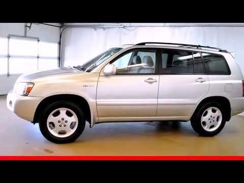 Toyota Highlander Limited V Wrd Row YouTube - 2005 highlander