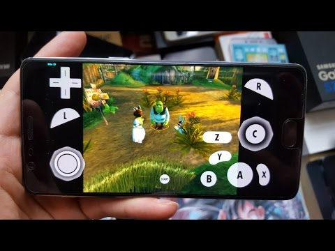 Shrek 2 Android Gameplay With Dolphin Emulator/Gamecube Adventure Games(OnePlus 3T)
