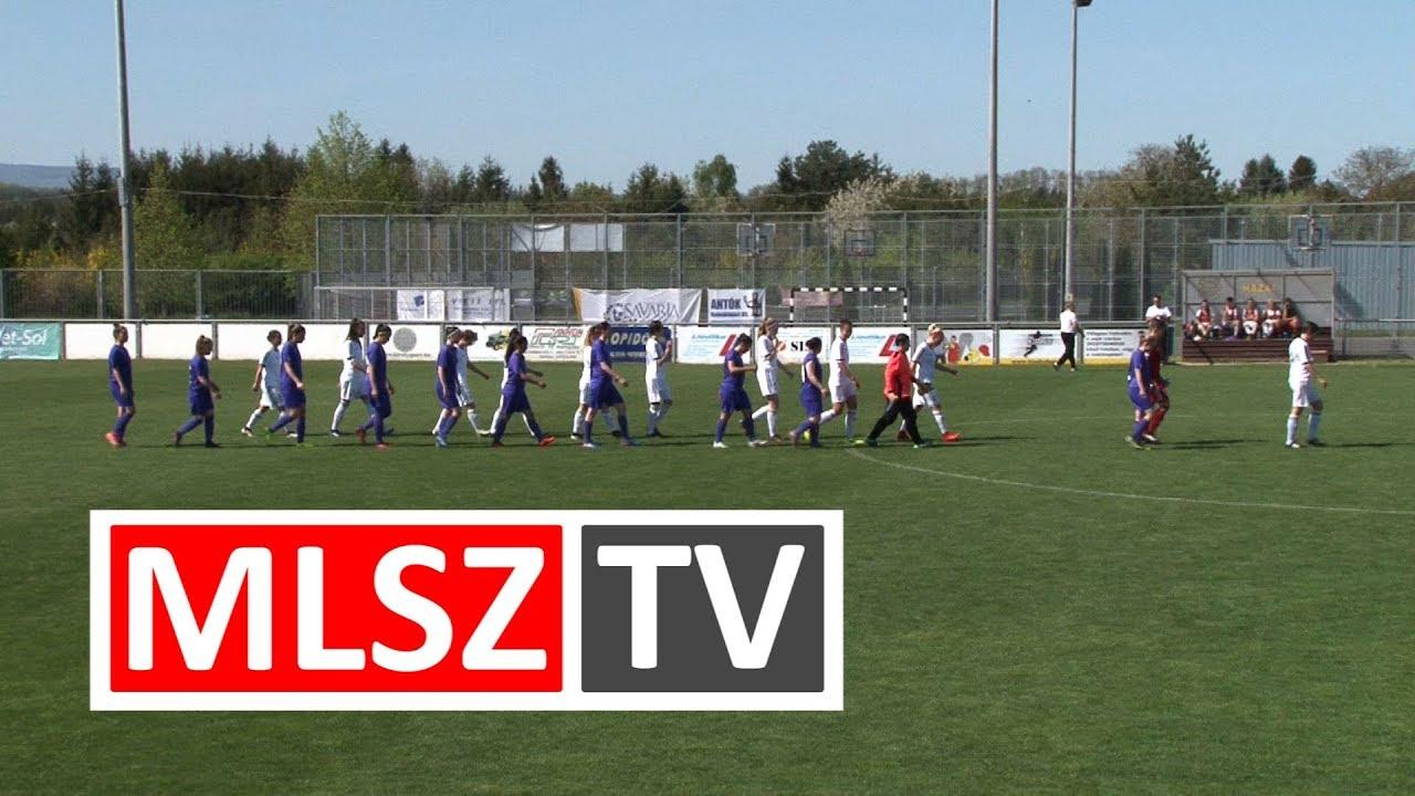 Haladás Viktória - Újpest FC | 7-0 | JET-SOL Liga | Alsóházi rájátszás 3. forduló | MLSZTV