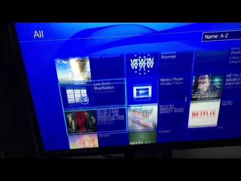 How to get internet browser on PS4