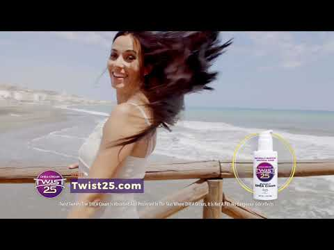Twist 25 DHEA Cream Helps Support Women During Menopause