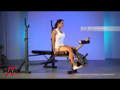 Complete Body Workouts Examples - Multifunction Weight Lifting Bench Rack
