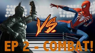Batman: Arkham vs Spider-Man PS4: COMBAT! (Which is better)