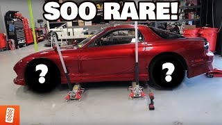 MAZDA FD RX-7 GETS NEW WHEELS!!! (ULTRA RARE!)