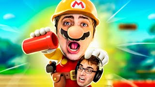 SOFRI NAS FASES DO BRKSEDU! - SUPER MARIO MAKER 2