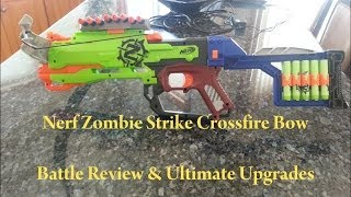 Zombie Strike Crossfire Bow Battle Review & Ultimate Upgrades