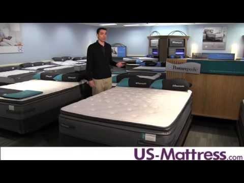 Sealy Posturepedic Plus Unrivalled Plush Euro Pillow Top Mattress