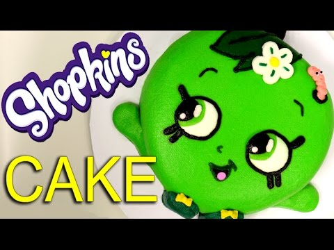 The EASIEST SHOPKINS Apple Blossom CAKE