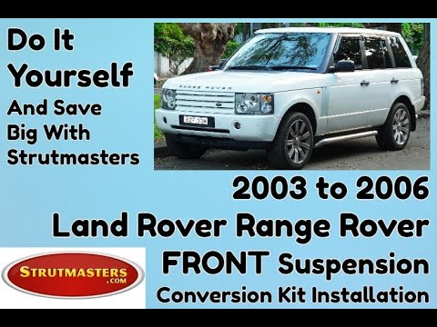How To Fix The Front Suspension On A Range Rover