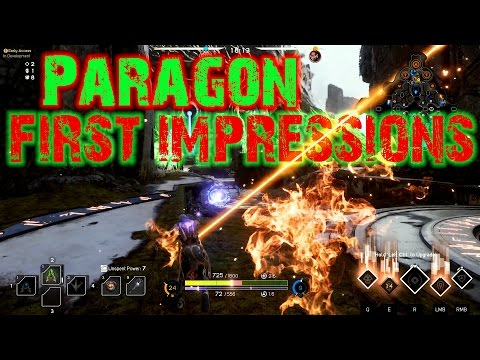 Paragon - First Impressions (Open Beta) LodenMF