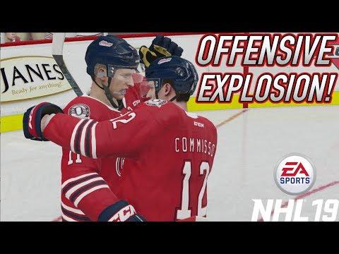 "NHL 19 Be a Pro #4 ""HAT TRICK HERO!"""