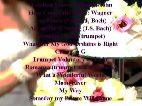Trumpet Voluntary Clarke Princess Diana S Royal Wedding March Song