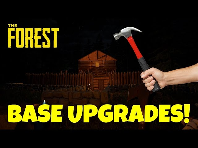 Base Upgrades! - The Forest - Ep.6