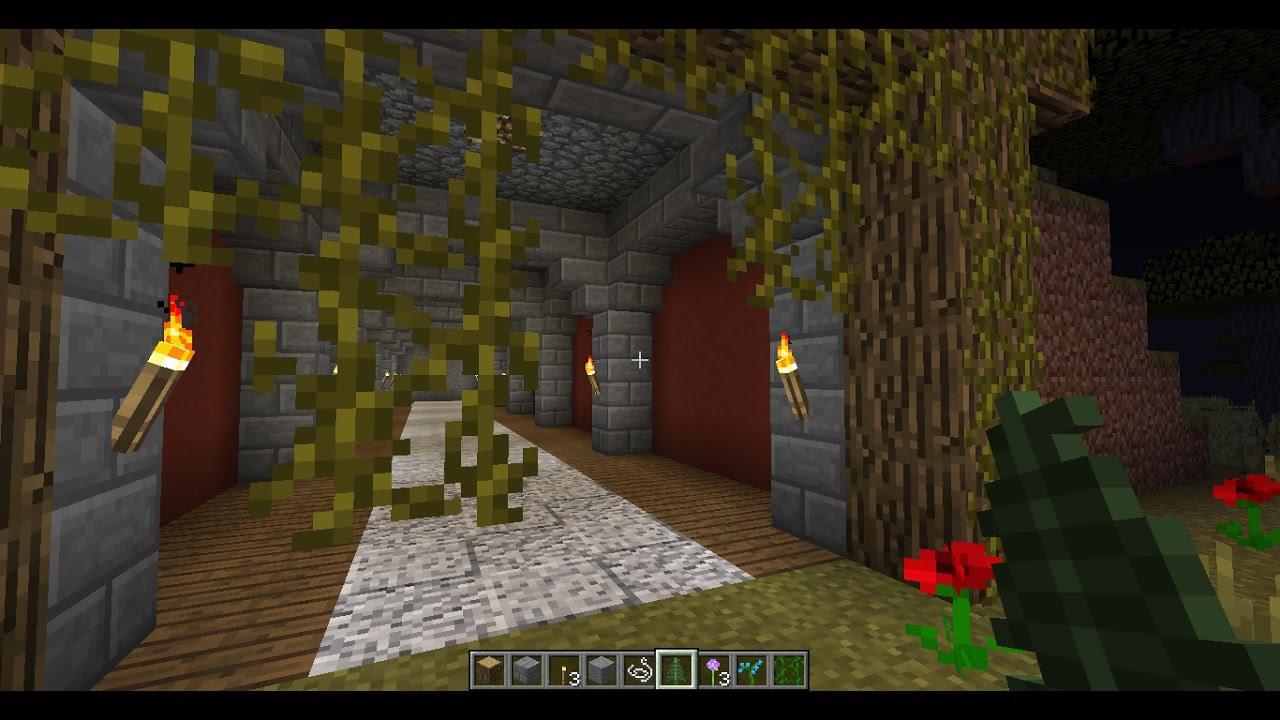Minecraft Simple Mountain Tunnel Design Youtube