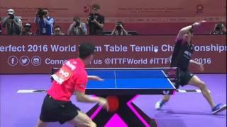 【世界卓球2016】世界ランク1位・最強プレイヤー 馬龍に吉村真晴が挑む:男子決勝 ×中国