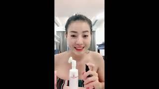Nghệ sĩ Thanh Hương chia sẻ Nước Hoa Hồng Rova Vina