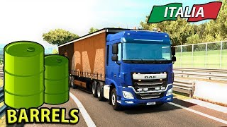 TAKING BARRELS THROUGH ITALY | ITALIA DLC Euro Truck Simulator 2 - Ep3