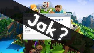 [TuT] Program Java(TM) Platform SE binary  przestał działać - Minecraft