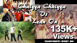 Chaiyya Chaiyya VS  Lean On | Zumba Dance Routine | Dil Groove Mare | BY AKSHAY JAIN