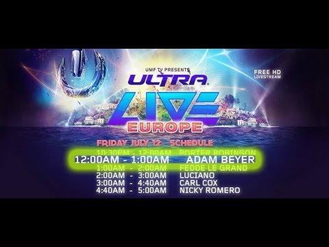 Adam Beyer   Live at Ultra Music Festival Europe Croatia 12/07/2013