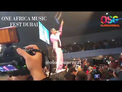 Wizkid and Tiwa Savage perform Malo at One Africa Music Fest in Dubai