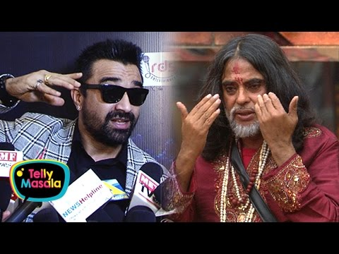 Ajaz Khan Wants To Slap Swami Om | ANGRY REACTION | Bigg Boss 10