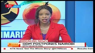 ODM Party Primaries for Nairobi County postponed