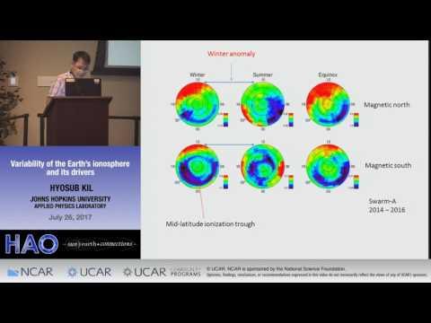 Hyosub Kil   Johns Hopkins Univ    Variability of the Earth's ionosphere and its drivers