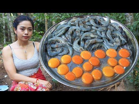 Yummy cooking crispy shrimp recipe  Cooking skill