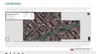 Como insertar el mapa de Google Maps en un artículo de Joomla! 3 Free HD Video