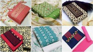 Daily Wear Cotton Salwar Kameez for Women Dress Materials Un-stitched Indira Trends