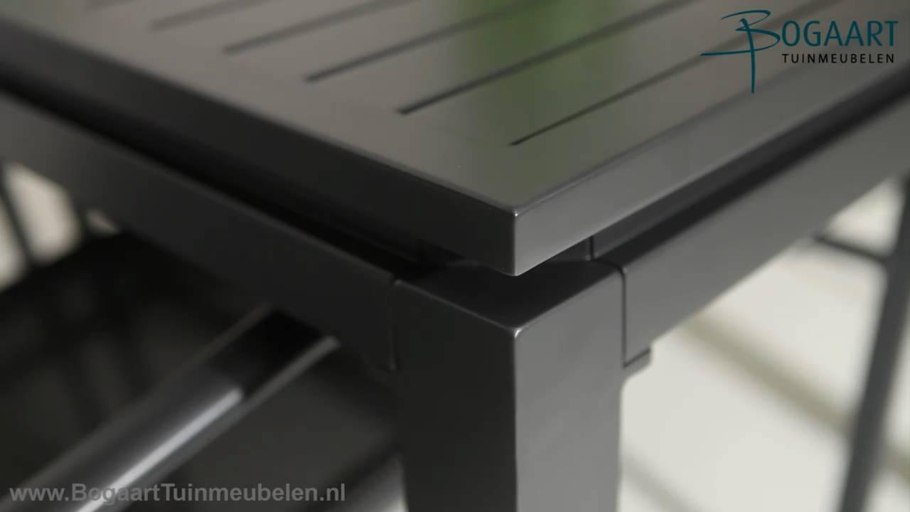 Hartman Tuinmeubelen, Aluminium Concept tafel 160cm   Casara dining   YouTube