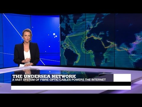 #Tech24: The vast undersea cable network