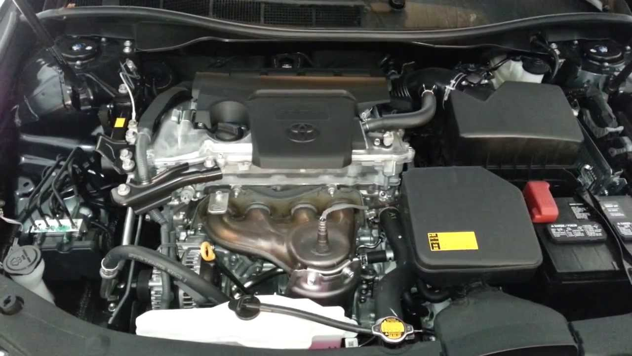 2013 Toyota Camry LE  2ARFE 25L I4 Engine Idling After