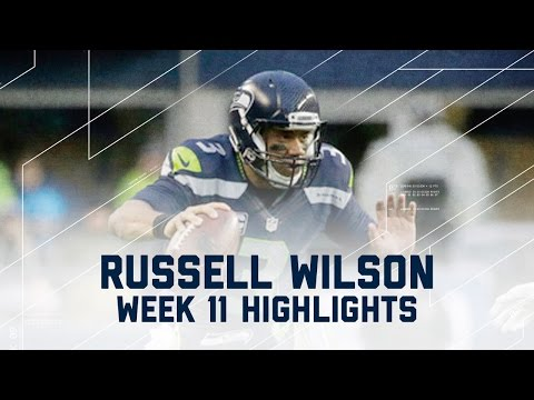 Russell Wilson Passes for 272 Yards & 2 TDs | Eagles vs. Seahawks | NFL Week 11 Player Highlights