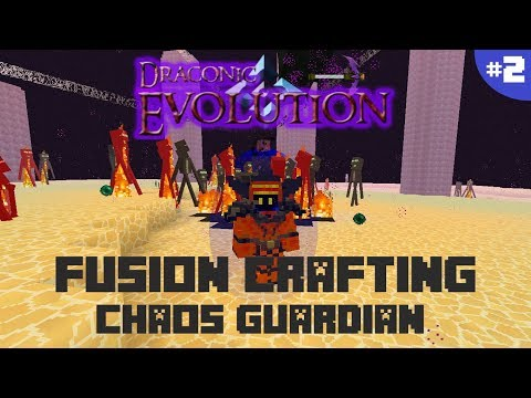 DRACONIC EVOLUTION 1.12.2 | PARTE 2: FUSION CRAFTING, CHAOS GUARDIAN | MINECRAFT MOD