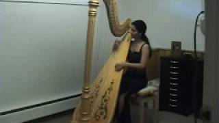 Classical harp - Andalucia, Boston harpist Lizary Rodriguez