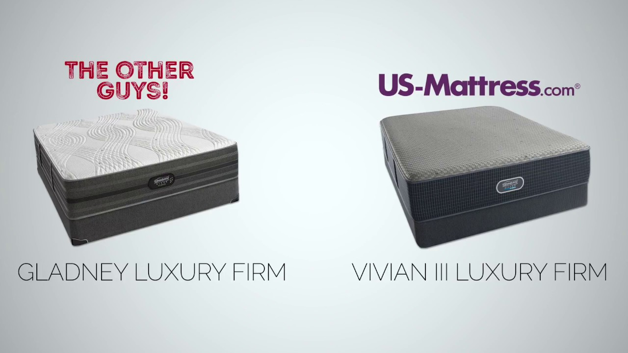 Beautyrest Black Hybrid Gladney Gladney Luxury Firm Vs The Vivian Iii Luxury Firm How Do They Compare