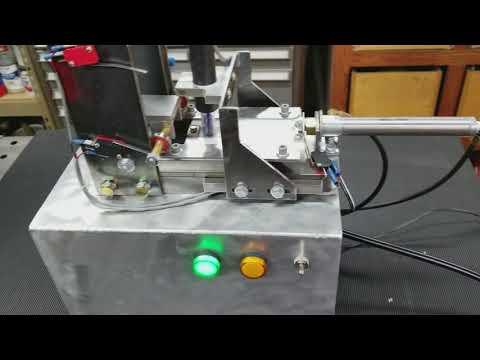Automated boolit sizing machine (video 2 of 2)