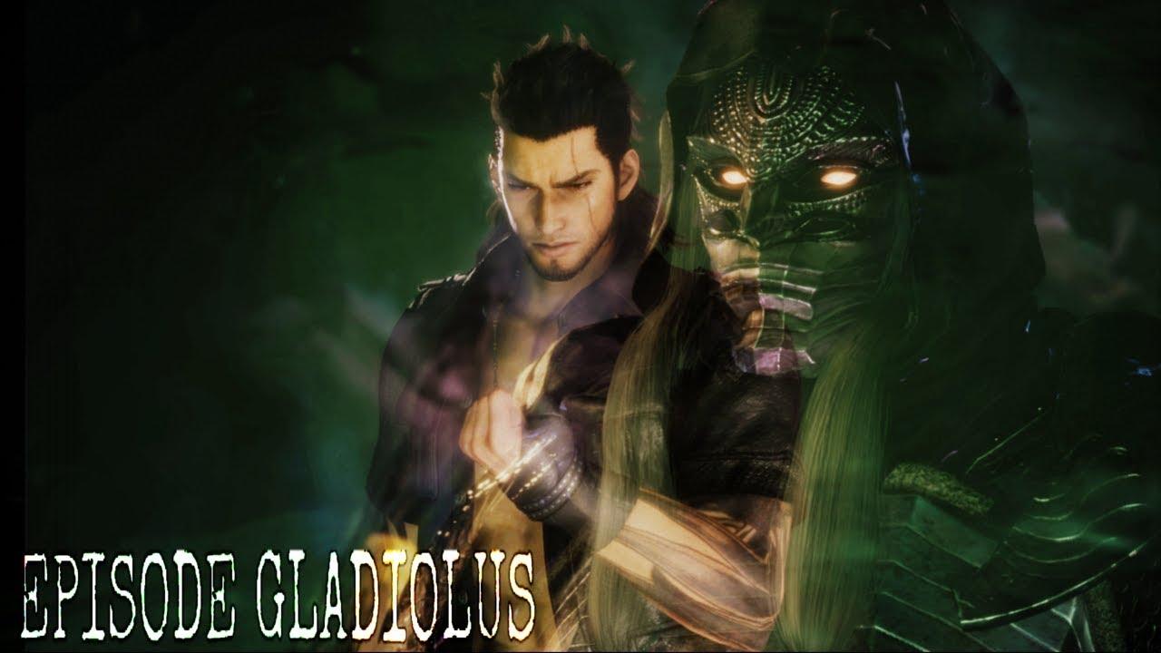 Final Fantasy Xv Dlc Episode Gladiolus Going Up Against Ghost Man