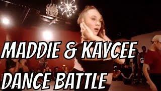Maddie Ziegler and Kaycee Rice - Dance Battle #1