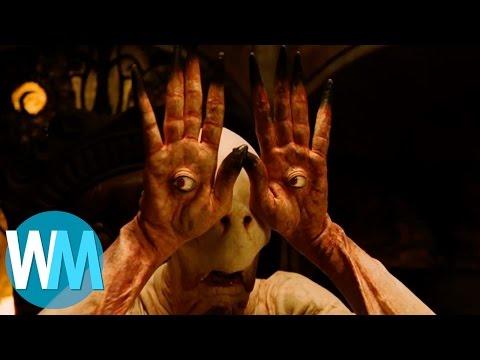 Top 10 des monstres les plus EFFRAYANTS du cinéma !