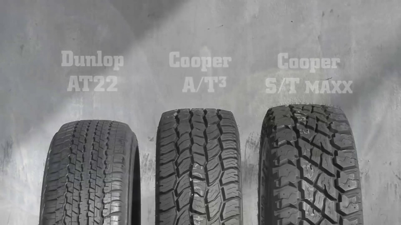 Cooper Tyres At3 Youtube