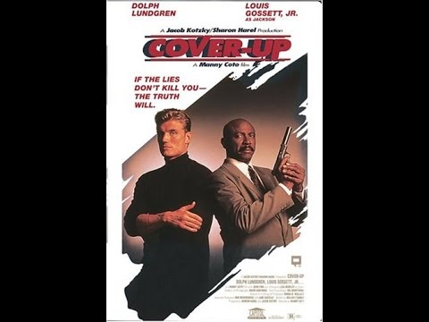 Dolph Lundgren in COVER UP - Trailer (1991, German)