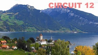 SWITZERLAND - Suiza - Spiez to Baden by Thun - 6 Places 6 Lugares